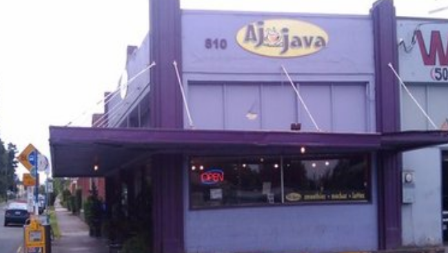 Coffee Shops like A.J. Java abound