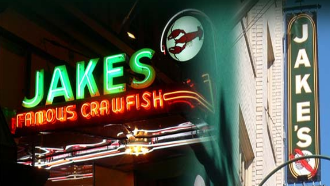 Stop in at Jakes for Seafood